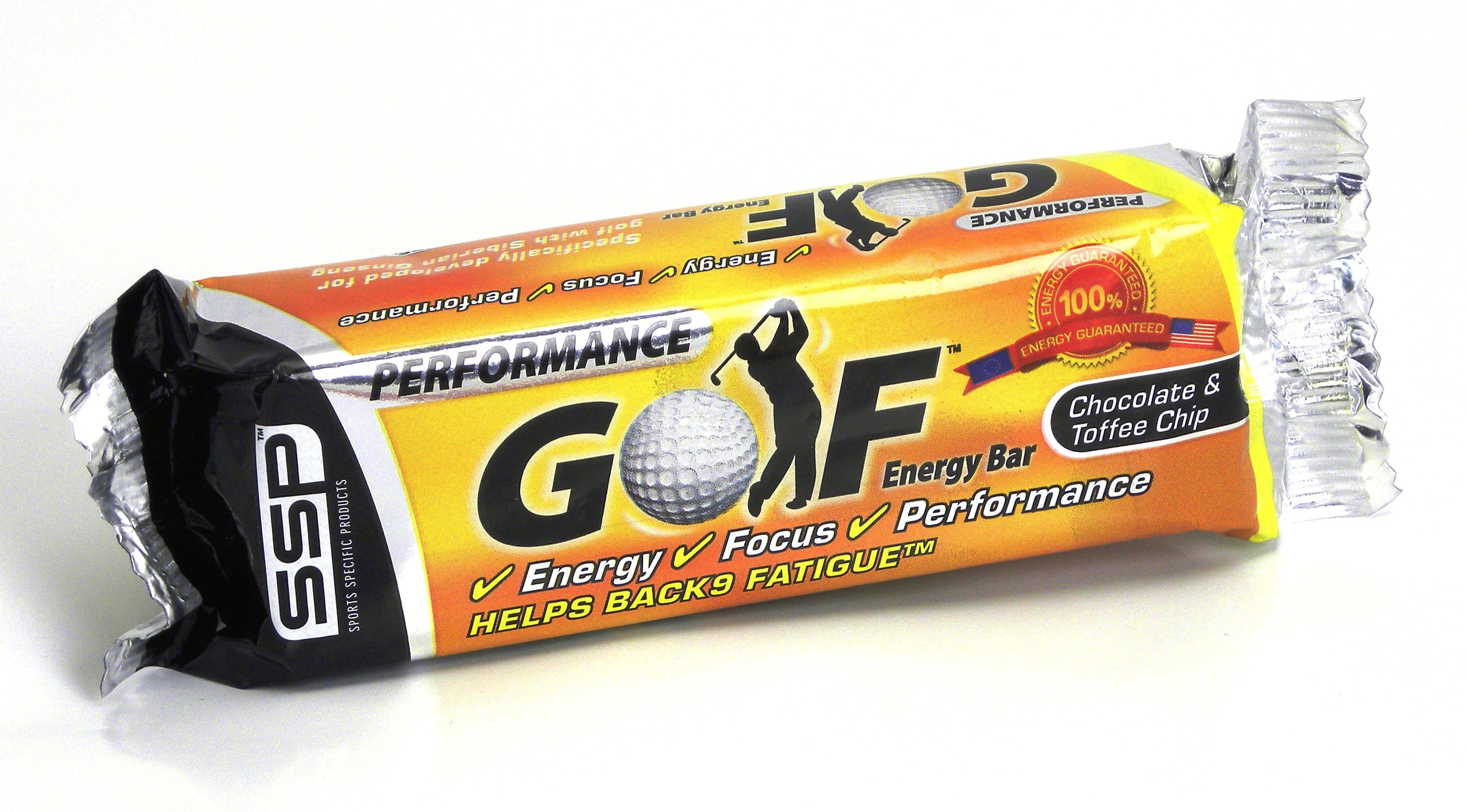 Golf Energy Bar SSP Chocolate and Toffee