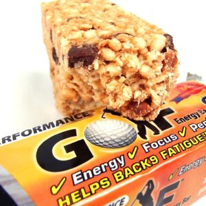 Chocolate Toffee Golf Energy Bar