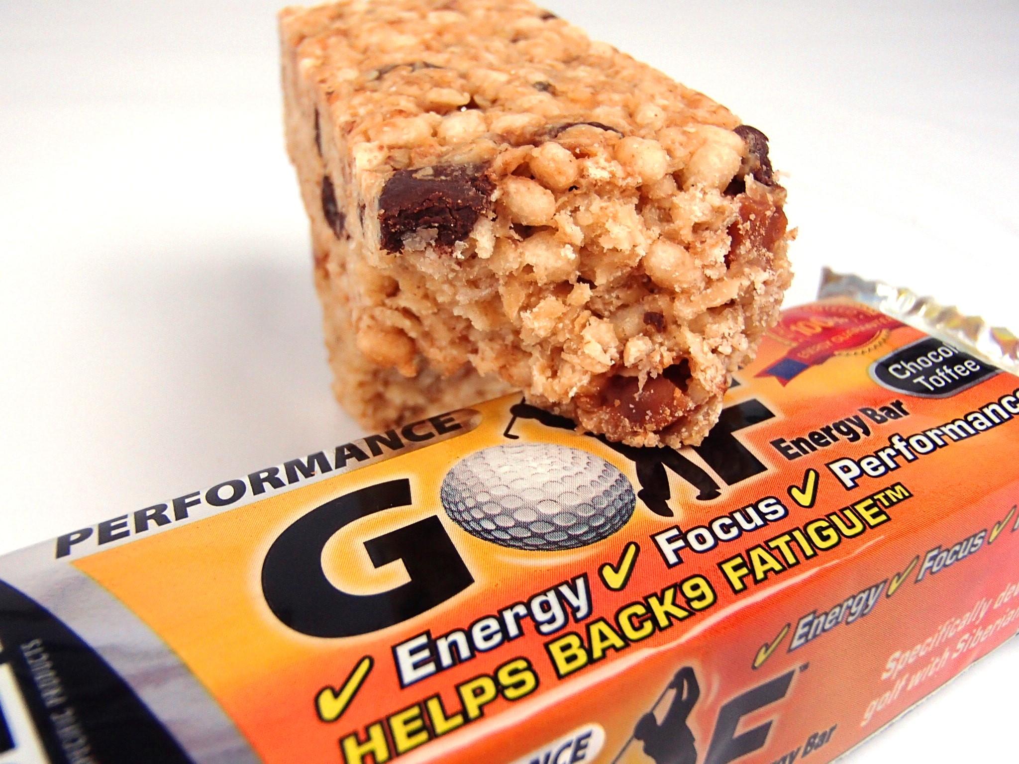 SSP Golf Energy Bar