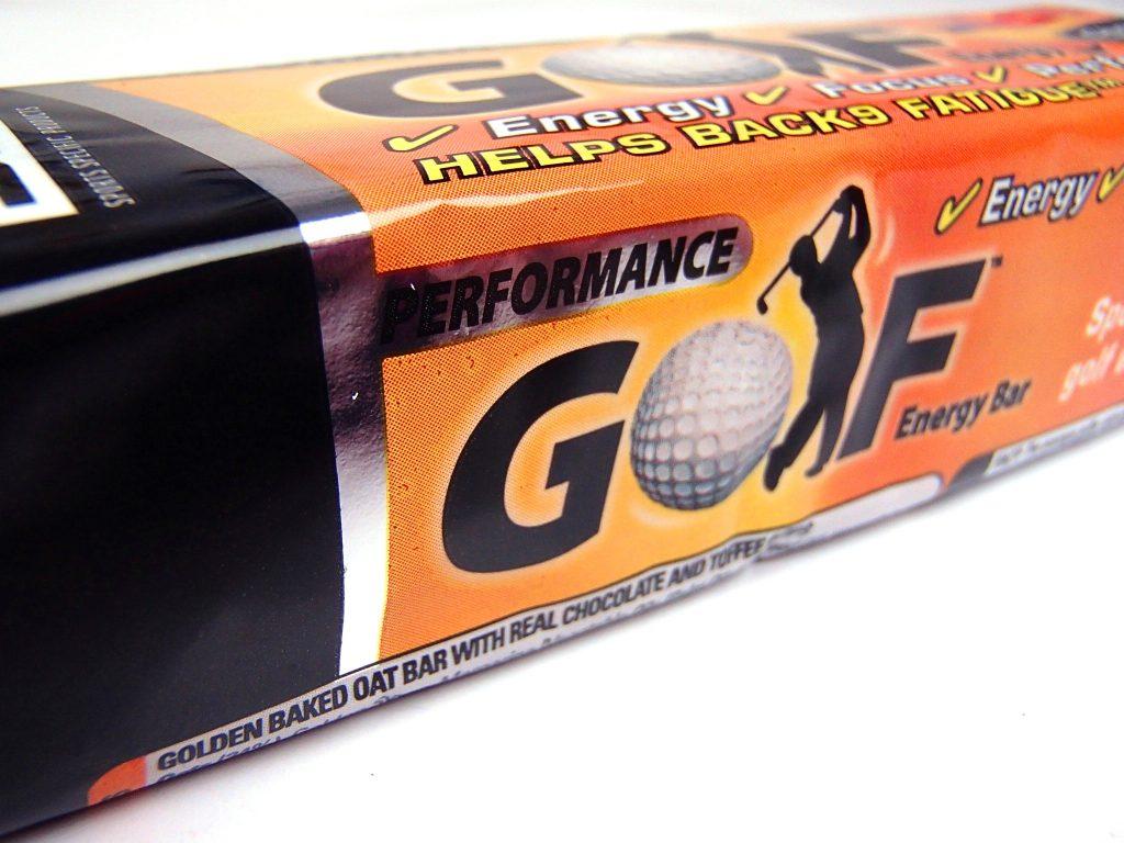 Golf Energy Bar