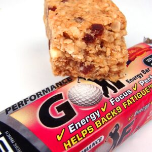 White Chocolate & StrawberryGolf Energy Bar