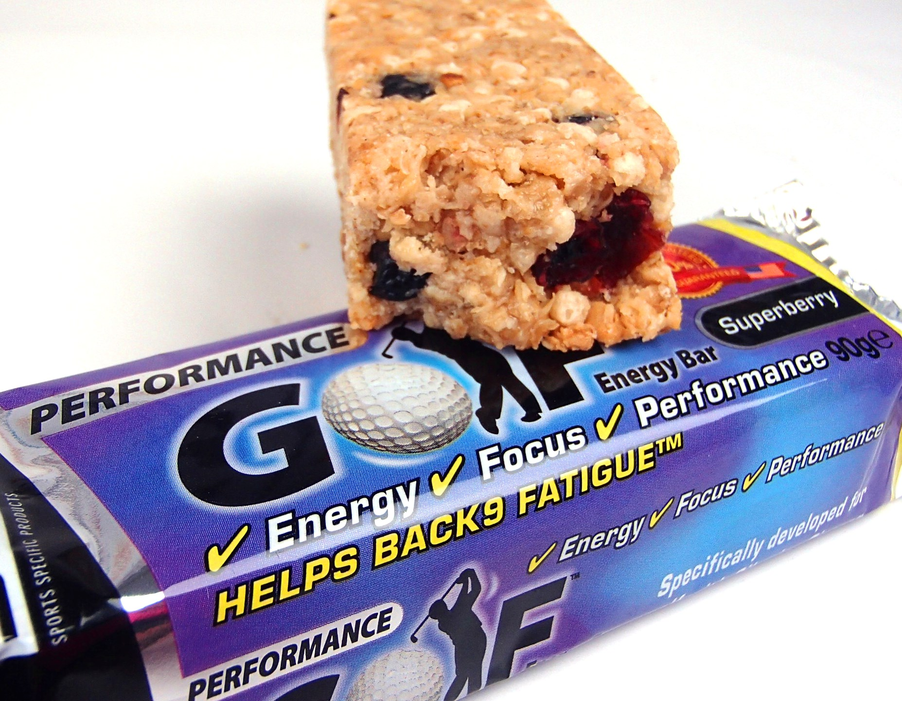 Golf Energy Bar superberry