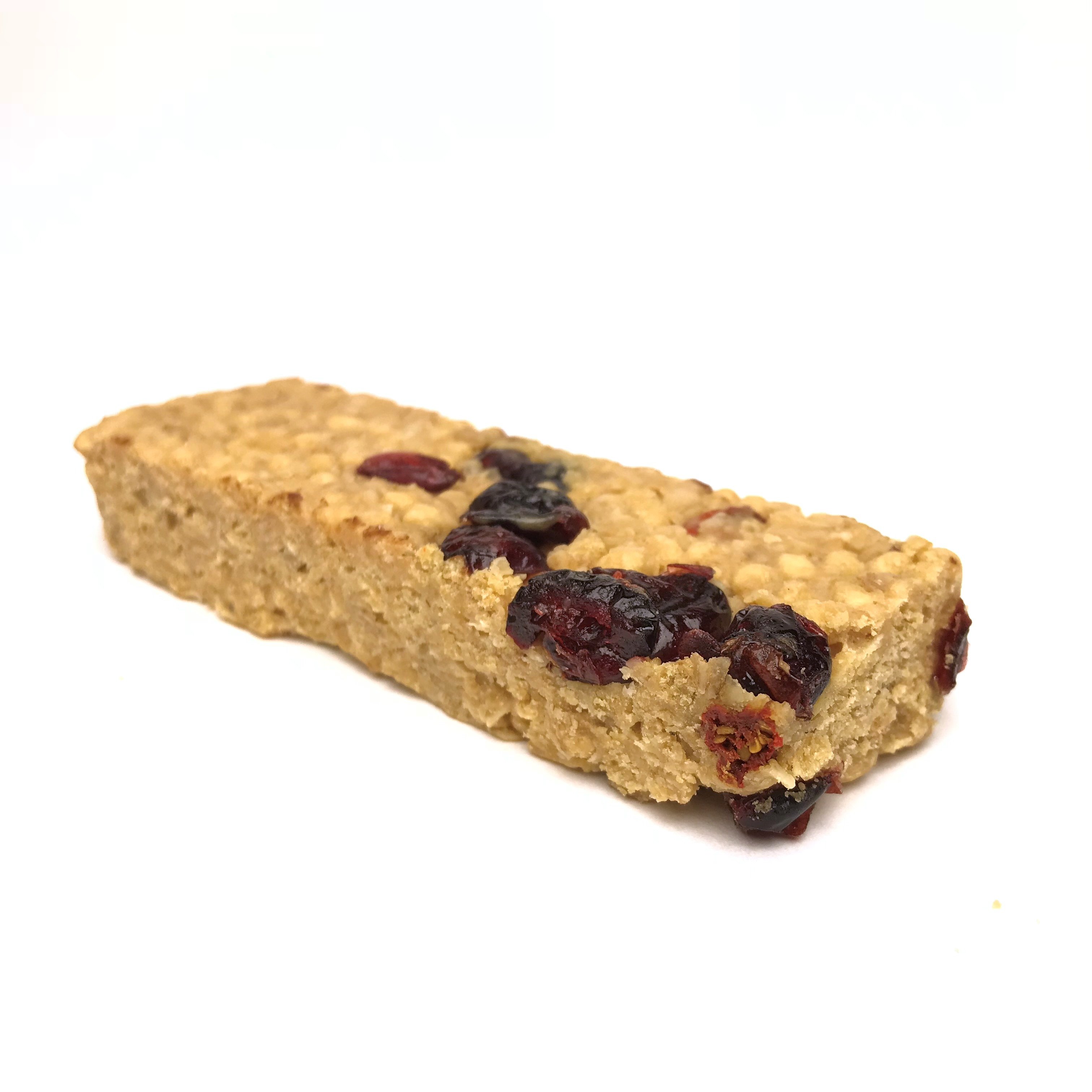 Cranberry Protein Bar Out of wrapper
