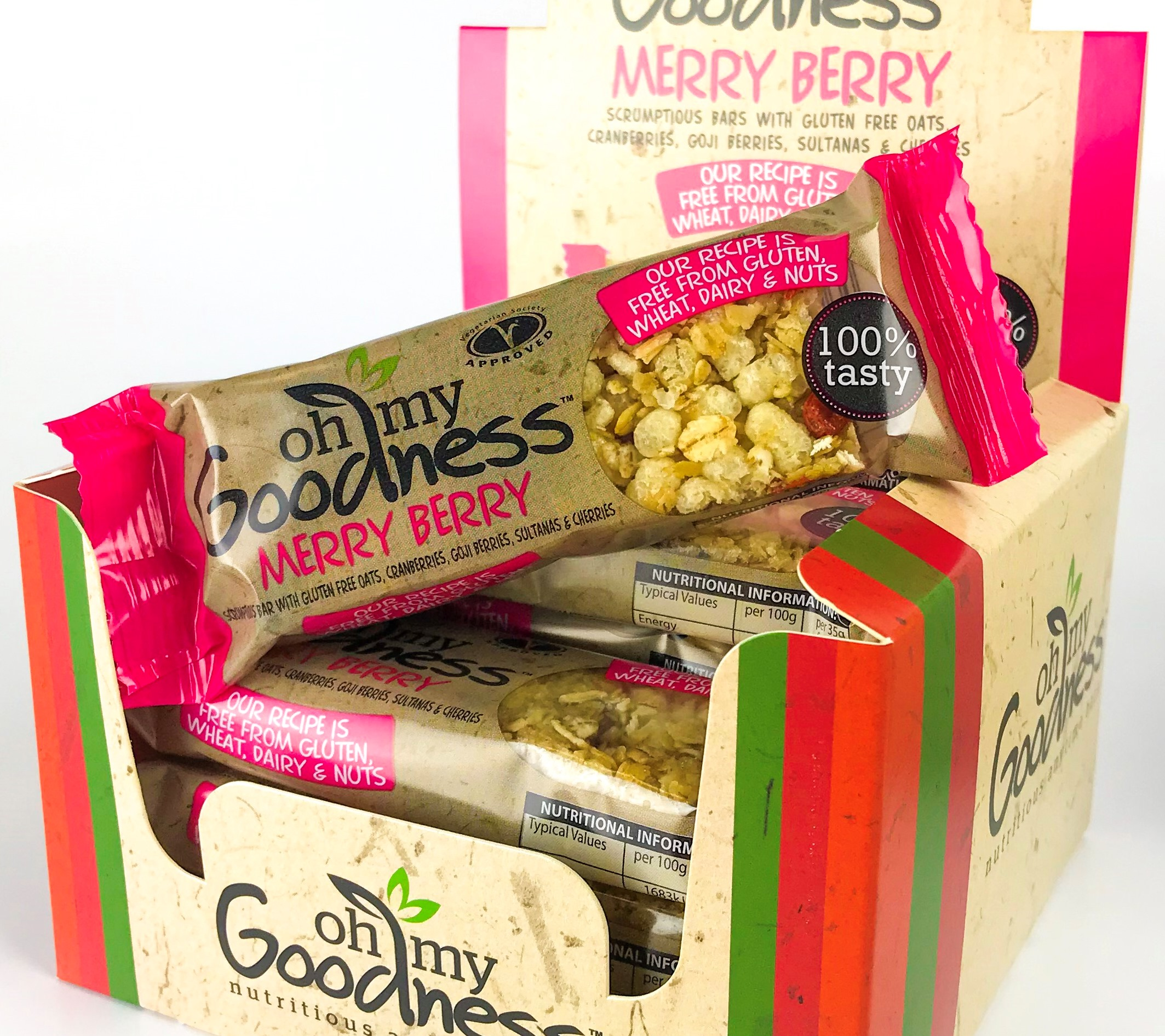 OMG Merry berry Bar in box