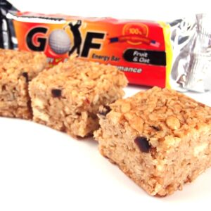 Golf nutrition energy bar