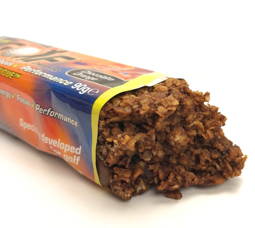 Chocolate Orange SSP Golf Energy Bar